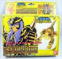 Saint Seiya - Milo - Chevalier d\'Or du Scorpion (Bandai France) (early plain box)