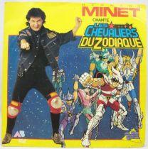 Les Chevaliers du Zodiaque - Disque 45Tours - Bande Originale (Bernard Minet) - AB Kid 1988