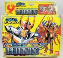 "Saint Seiya - Phoenix Bronze Saint - Ikki ""version 1\"" (Bandai France) (early plain box)"