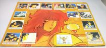 Saint Seiya - SFC 1988 Stickers collector book (complete no poster)