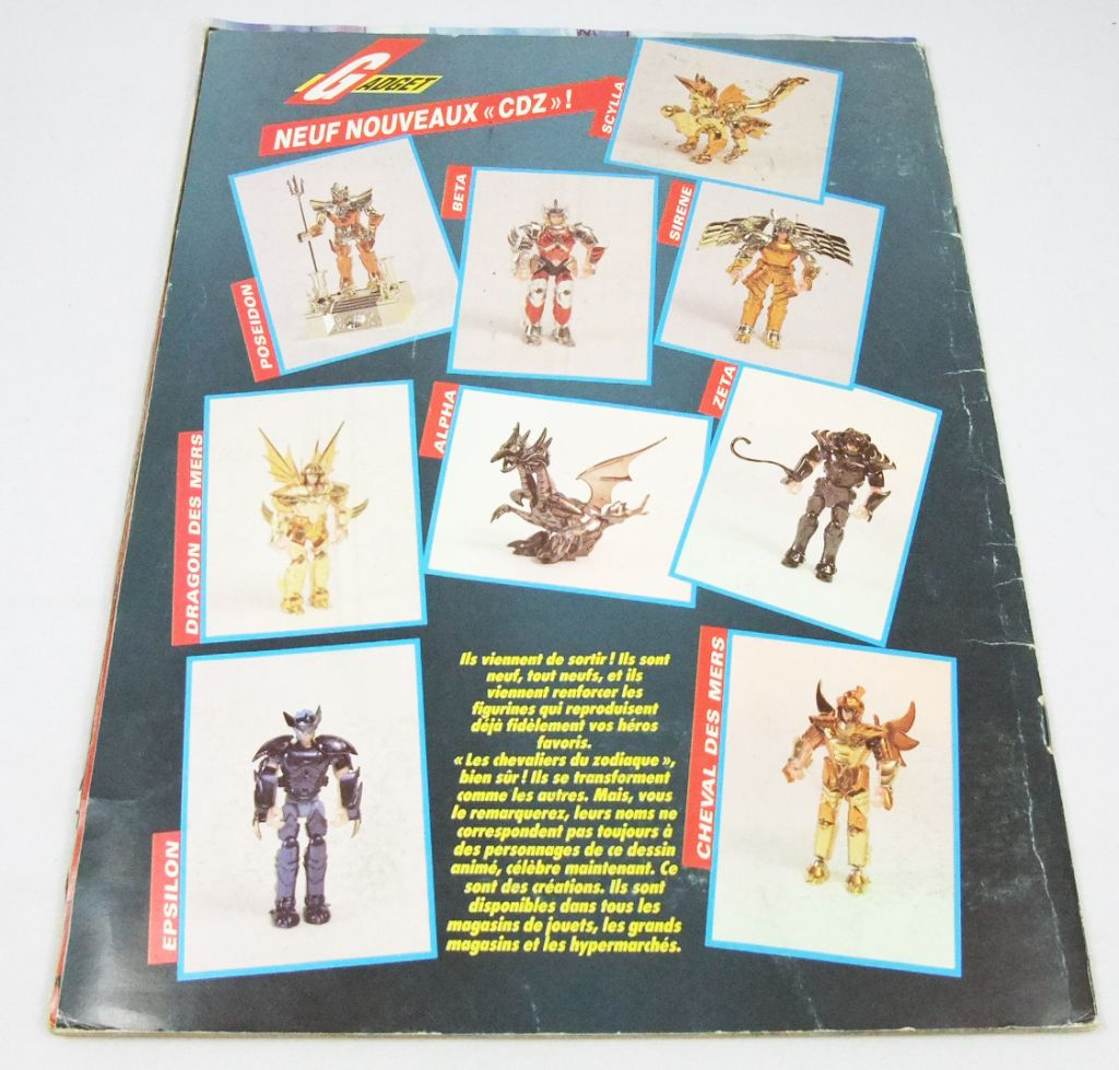 Saint Seiya - SFC 1990 Stickers collector book (complete no poster)