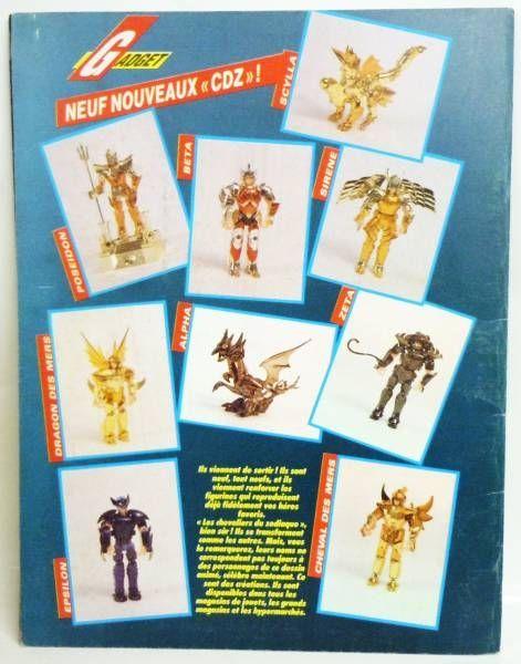 Saint Seiya - SFC Stickers album 1990