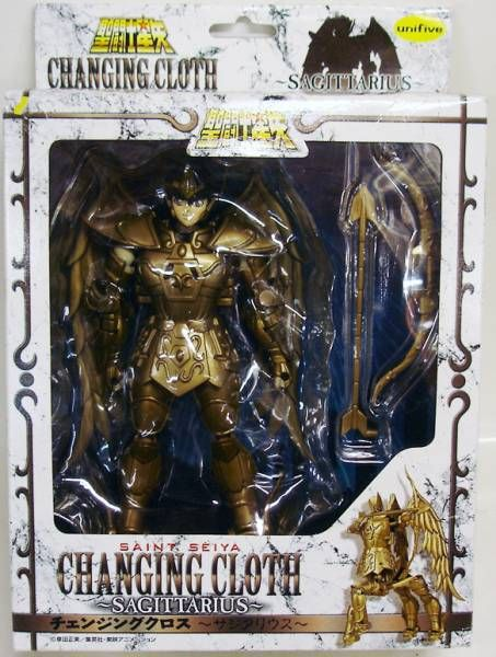 Saint Seiya - Unifive - Figurine Changing Cloth - Seiya du Sagittaire
