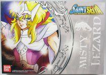 Saint Seiya (Bandai France) - Misty - Chevalier d\'Argent du Lézard