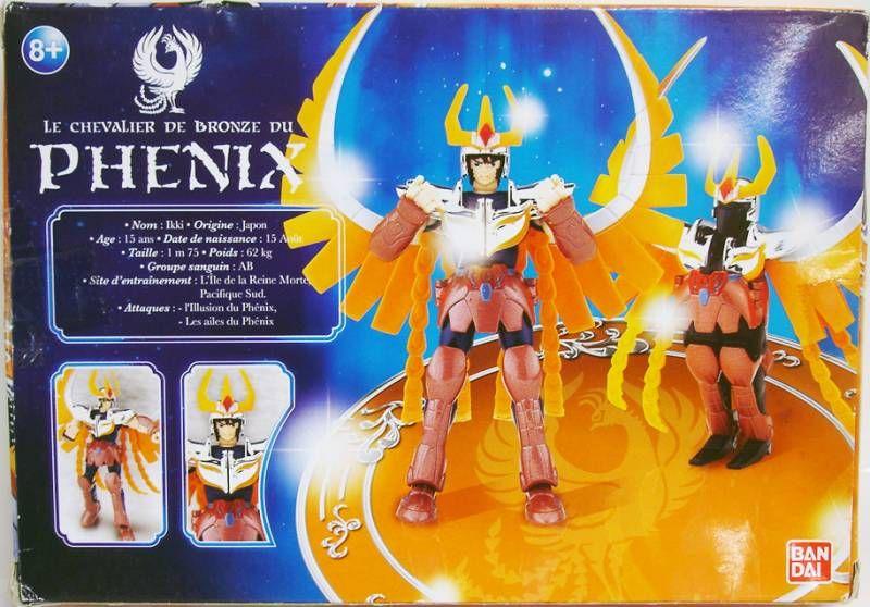 Saint Seiya (Bandai HK) - Ikki - Chevalier de Bronze du Phénix (Version Française)