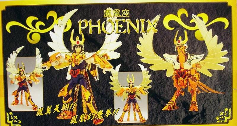 Saint Seiya (Bandai HK) - New Gold Phoenix Saint - Ikki