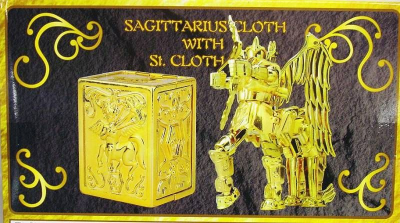 Saint Seiya (Bandai HK) - Sagittarius Gold Cloth with Saint Cloth Box