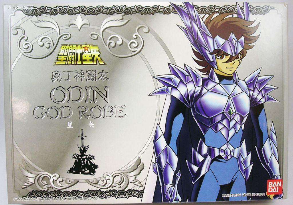 Saint Seiya (Bandai HK) - Seiya en Armure Divine d\'Odin
