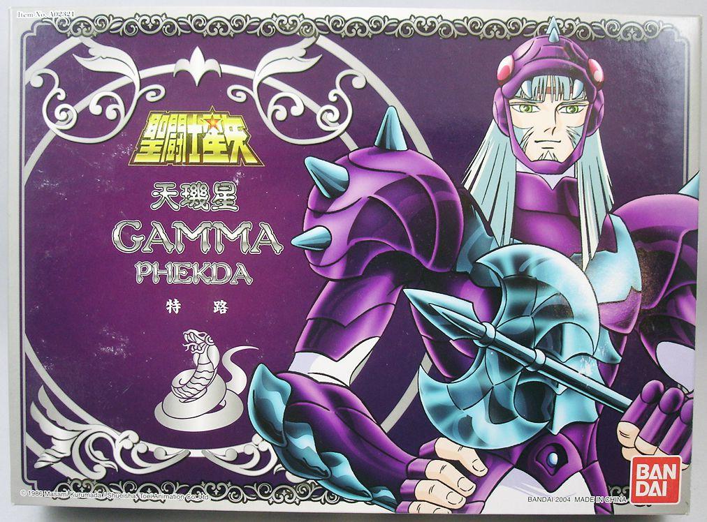 Saint Seiya (Bandai HK) - Thor de Phecda - Guerrier Divin de Gamma