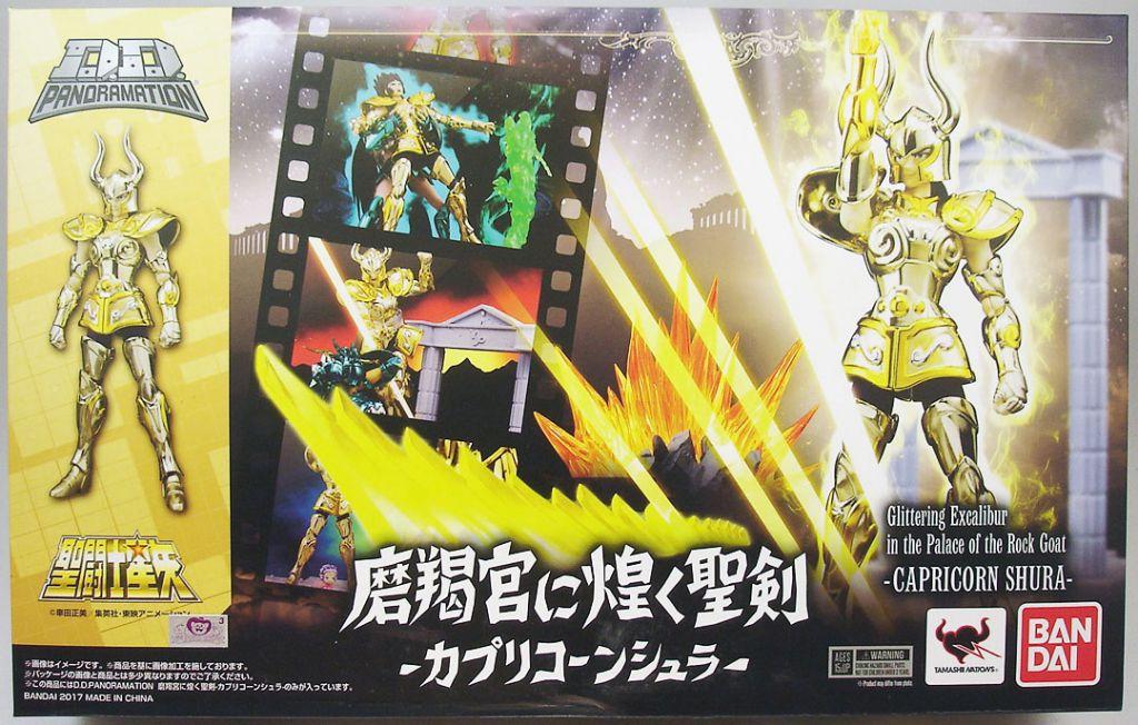 Capricorn Shura Gold Saint Mini figure Saint Seiya
