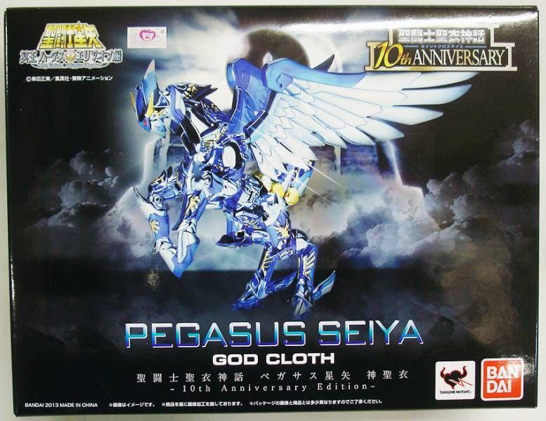 Saint Seiya Myth Cloth - Seiya - Chevalier de Bronze de Pégase \'\'version 4 - 10th Anniversary Edition\'\'