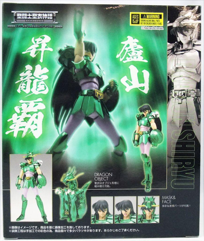 Saint Seiya Myth Cloth - Shiryu - Chevalier de Bronze du Dragon \'\'version 1 - Revival Edition\'\'