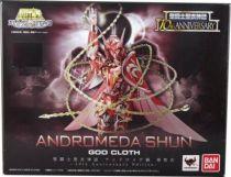 Saint Seiya Myth Cloth - Shun - Chevalier de Bronze d\'Andromède \'\'version 4 - 10th Anniversary Edition\'\'