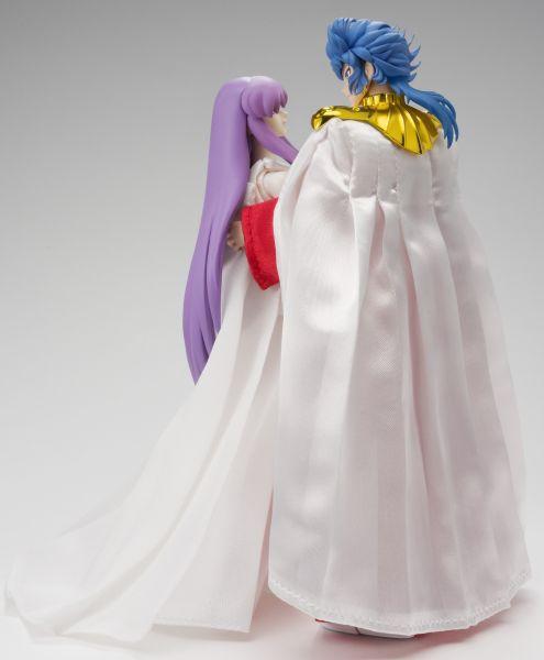 Saint Seiya Myth Cloth - Sun God Abel & Athena Saori Kido