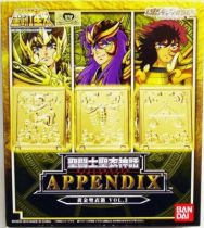 Saint Seiya Myth Cloth Appendix - Gold Cloth Box Vol.3