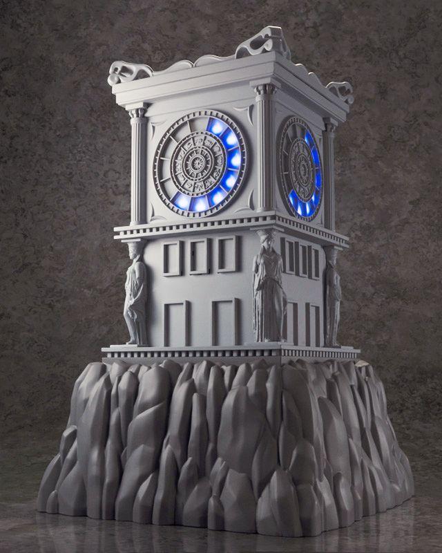 Saint Seiya Myth Cloth EX - Horloge du Sanctuaire
