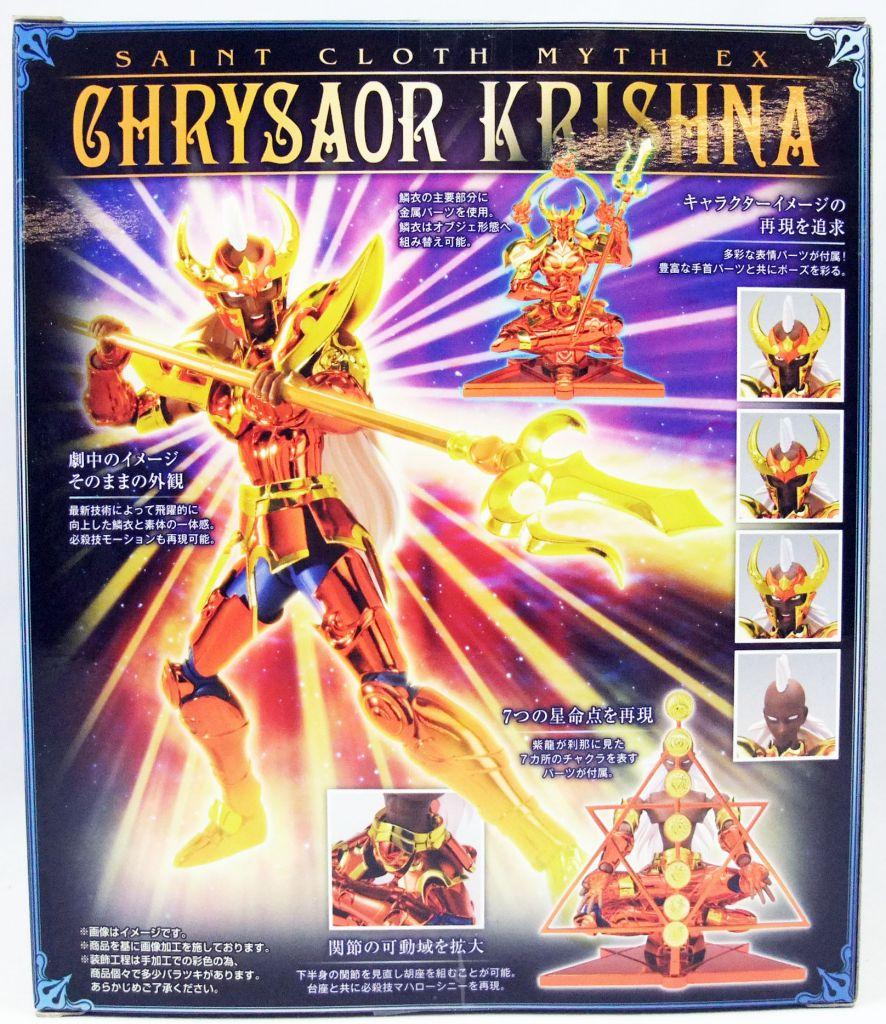 Saint Seiya Myth Cloth EX - Krishna - Général de Chrysaor