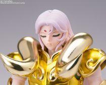 "Saint Seiya Myth Cloth EX - Mu - Chevalier d\'Or du Bélier & Kiki \""Revival Edition\"""