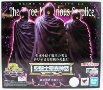 Saint Seiya Myth Cloth EX - Mysterious Surplice Set : Cancer, Pisces, Aries