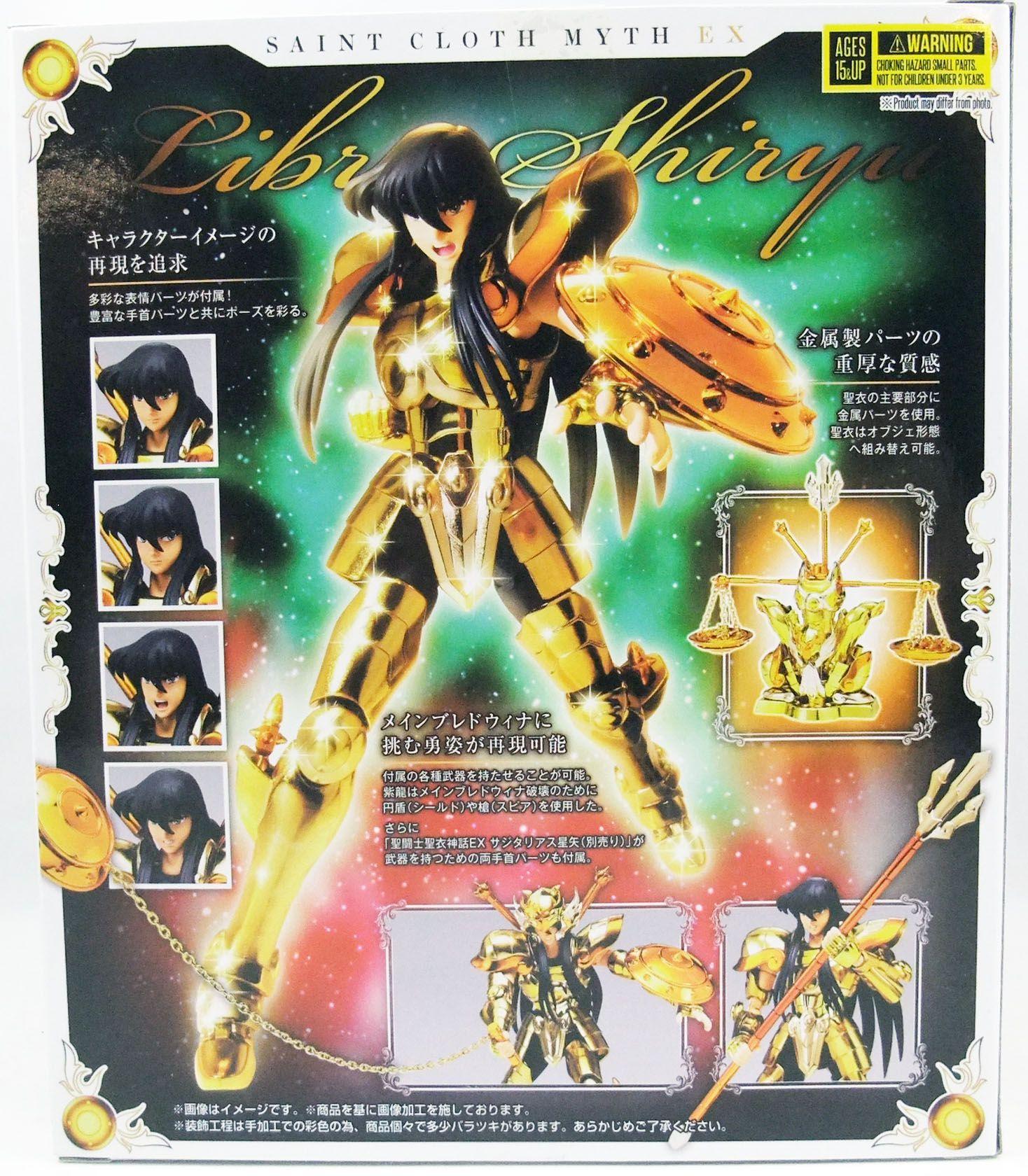 Saint Seiya Myth Cloth EX - Shiryu - Chevalier d\'Or de la Balance