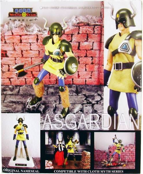 Saint Seiya Myth Cloth Mortal Clash - Asgardian Soldier of Odin \'\'version 1\'\'