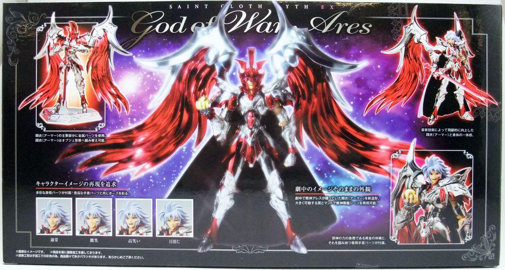 Saint Seiya Saintia Shô Myth Cloth EX - Arès - Dieu de la Guerre