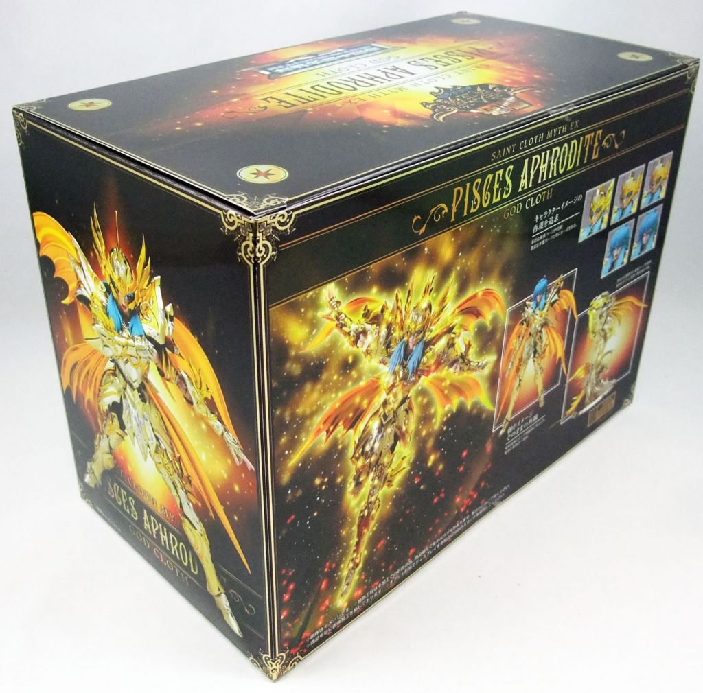 Saint Seiya Soul of Gold Myth Cloth EX - Aphrodite - Chevalier d\'Or des Poissons
