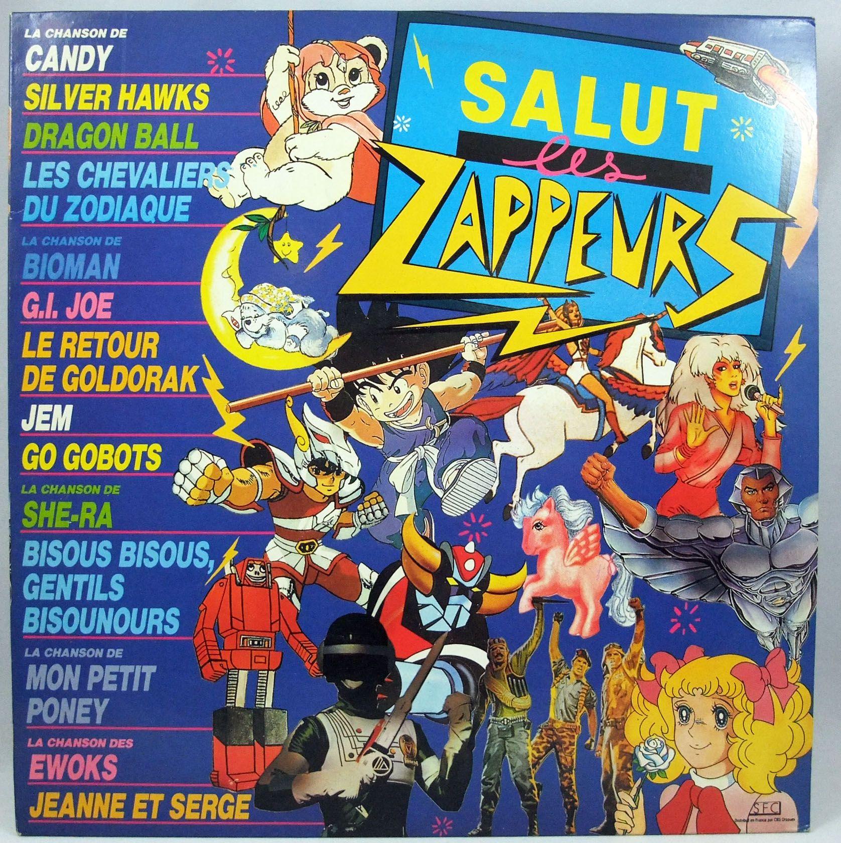Salut Les Zappeurs - Record LP - SFC 1988