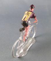 Salza -  Cycliste Métal - Equipe Scic en Danseuse Tour de France