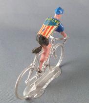 Salza - Cyclist (Metal) - Team Brooklyn Standing up Tour de France