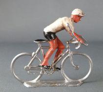 Salza - Cyclist (Metal) - Team White Jersey Standing up Tour de France