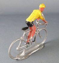 Salza - Cyclist (Metal) - Team Yellow Jersey Standing up Tour de France