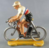Salza - Cyclist (Plastic) - Team France World Champion Racer Tour de France
