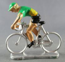 Salza - Cyclist (Plastic) - Team Green Sprinter Tour de France