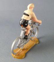 Salza - Cyclist (Plastic) - Team Tan & Black Removable Racer Tour de France