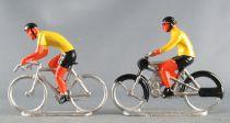 Salza - Cycliste Métal - Derny & Rouleur Maillot Jaune