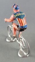 Salza - Cycliste Métal - Equipe Brooklyn Rouleur Amovible Tour de France