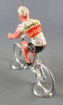 Salza - Cycliste Métal - Equipe Carpenter Conforluxe Rouleur Amovible Tdf