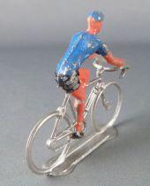 Salza - Cycliste Métal - Equipe Maillot Bleu Rouleur Tour de France