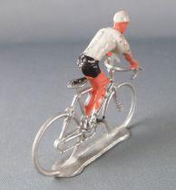 Salza - Cycliste Métal - Equipe Maillot Gris en Danseuse Tour de France