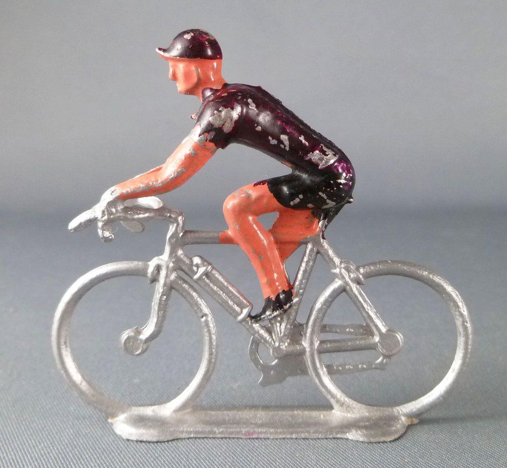 Salza - Cycliste Métal - Equipe Maillot Violet Rouleur Tour de France
