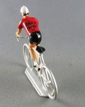 Salza - Cycliste Plastique - Equipe Beaulieu Flandria en danseuse Tour de France