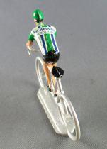 Salza - Cycliste Plastique - Equipe La Redoute Motobecane en danseuse Tour de France