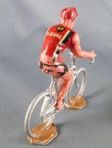 Salza - Cycliste Plastique - Rouleur Amovible Equipe Lejeune BP Tour de France