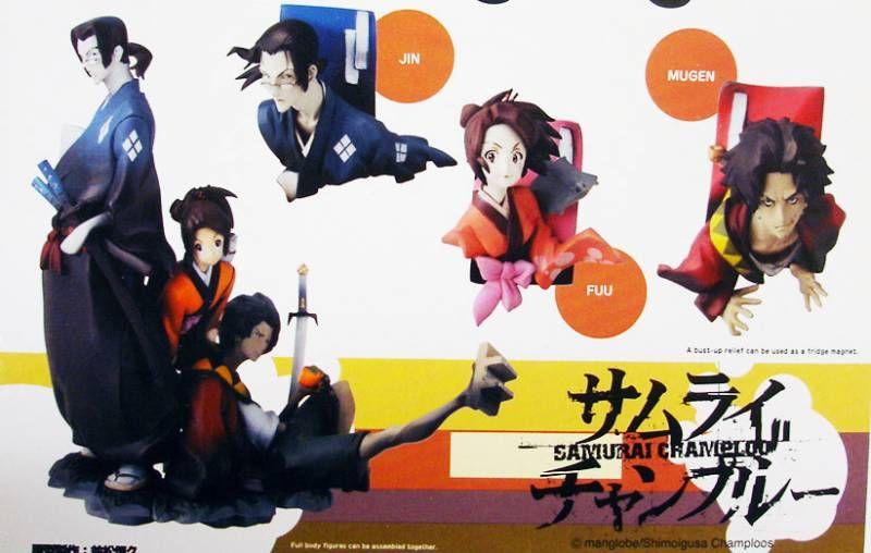 Samurai Champloo - Jin, Fuu, Mugen - Yamato
