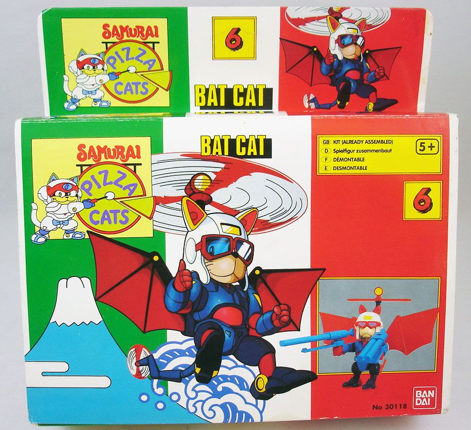 Samurai Pizza Cats - Bandai - #6 Bat Cat