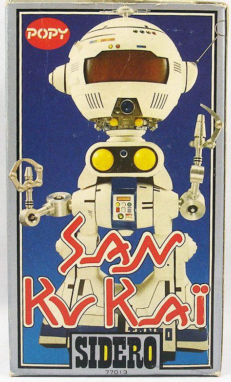 San Ku Kaï - Robot Die-cast Popy France - Sidéro (plain box)