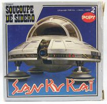 San Ku Kaï - Véhicule Die-cast Popy France - Soucoupe de Sidéro (plain box)