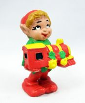 Santa and friends - Schleich PVC Figure - Elf with train