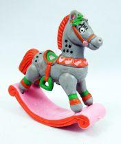 Santa and friends - Schleich PVC Figure - Rockin\' Horse